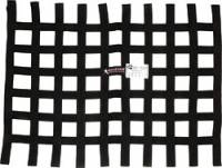 "Ribbon Window Nets - 18"" x 24"" Ribbon Window Nets - Allstar Performance - Allstar Performance Loop Style Window Net - 18"" x 24"" - Black"