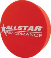 "Wheel Parts & Accessories - Mud Plugs - Allstar Performance - Allstar Performance 3"" Foam Mud Plug - Fits 15"" Wheels - Red"