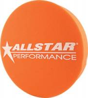 "Wheel Parts & Accessories - Mud Plugs - Allstar Performance - Allstar Performance 3"" Foam Mud Plug - Fits 15"" Wheels - Orange"