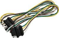 """Electrical System - Electrical Connectors - Allstar Performance - Allstar Performance Four Wire Universal Connector w/ 48"""" Loop"""