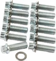 Engine Bolts & Fasteners - Intake Manifold Bolts - Allstar Performance - Allstar Performance Intake Manifold Bolt Kit - SB Chevy - 12 Pt - (12 Pack)