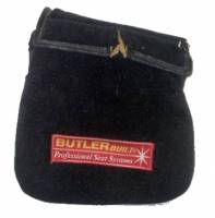 Leg Supports - Steering Column Knee Pads - ButlerBuilt Motorsports Equipment - ButlerBuilt® Center Leg Support - Black