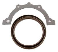 Rear Main Seals - Rear Main Seals - SB Chevy - Fel-Pro Performance Gaskets - Fel-Pro Rear Main Bearing Seal - Silicone - 1-Piece Type - SB Chevy V8, V6 - 86-92