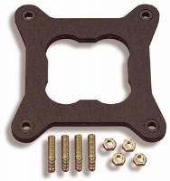 """Gaskets and Seals - Holley Performance Products - Holley Base Gasket 1.75 """" Bore Size .3125 """" Thickness Fits Holley 4160/4150 and Four Barrel TBI Flange Pattern"""