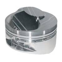 "Forged Pistons - SB Chevy - JE Pistons Forged Pistons - SBC - JE Pistons - JE Pistons Standard 23° Domed Piston Set - SB Chevy - 420 C.I. - 4.155"" Bore Size - 3.875"" Stroke - 6.000"" Rod Length"