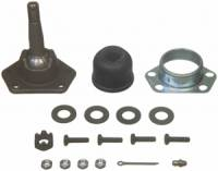 Chevrolet Camaro (2nd Gen) Steering and Components - Chevrolet Camaro (2nd Gen) Spindles, Ball Joints, and Components - Moog Chassis Parts - Moog Upper Ball Joint - Bolt-In - Greasable - Buick, Chevy, GMC, Oldsmobile, Pontiac - 70-81 Camaro, 73-88 Chevelle - Malibu - Monte Carlo, 71-96 Impala - Caprice