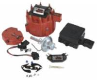 Distributor Components and Accessories - Distributor Tune Up Kits - PerTronix Performance Products - PerTronix Flame-Thrower Tuneup Kit - Includes Coil, Red Cap, Rotor, Module - GM