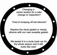 "Gaskets and Seals - Ratech - Ratech Reusable Ford 9"" Rubber Cover Gasket"