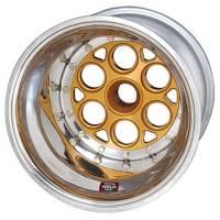 """Sprint Car & Open Wheel - Weld Racing - Weld Magnum Sprint Spline Inner Beadlock Wheel - 15"""" x 15"""" - 42 Spline - 5"""" Back Spacing"""