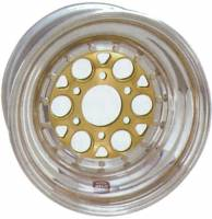 "Front Wheels - Weld Magnum Sprint 6-Pin Wheels - Weld Racing - Weld Magnum Sprint 6-Pin Aluminum Wheel - 15"" x 10"" - 6 x 5"" Bolt Circle - 5"" Back Spacing"