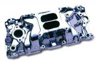 Intake Manifolds - SB Chevy - Professional Products Intake Manifolds - SBC - Professional Products - Professional Products SB Chevy Typhoon Intake Manifold - Satin