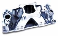 Intake Manifolds - SB Chevy - Professional Products Intake Manifolds - SBC - Professional Products - Professional Products SB Chevy Hurricane Intake Manifold - Satin