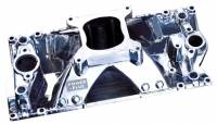 Intake Manifolds - SB Chevy - Professional Products Intake Manifolds - SBC - Professional Products - Professional Products SB Chevy Vortec Hurricane Intake Manifold - Satin