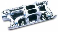 Intake Manifolds - SB Ford - Professional Products Intake Manifolds - SBF - Professional Products - Professional Products SB Ford 260-302 Crosswind Intake Manifold - Satin