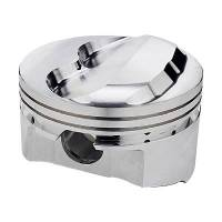 "Forged Pistons - SB Chevy - SRP Forged Pistons - SBC - Sportsman Racing Products - SRP Performance Forged Domed Piston Set - SB Chevy - 4.155"" Bore, +9cc Dome Volume"