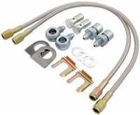 "Brake Hoses - Brake Line Hose Kits - Allstar Performance - Allstar Performance Brake Hose Kit - Big GM - 7/16""-20 Fittings"