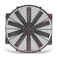 """Electric Fans - Flex-a-Lite Electric Fans - Flex-A-Lite - Flex-A-Lite 16"""" Low Profile Electric Puller Fan - 2,500 CFM - Amp Draw: 18.5"""