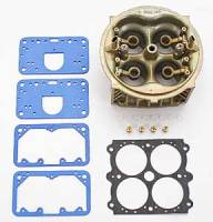 Carburetor Service Parts - Main Bodies - Holley Performance Products - Holley HP Main Body Retro Fit Kit - 750CFM - Dichromate Finish