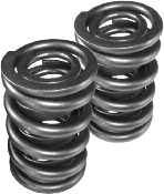 "Valve Springs - Howards Max Effort Racing Valve Springs - Howards Cams - Howards Max Effort™ Dual Roller Valve Springs w/ Damper - 1.540"" O.D., .750"" I.D."