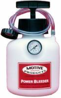 Brake System - Brake Bleeder Systems - Motive Products - Motive Products Brake Power Bleeder System - Metric