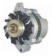 Alternator - Alternators - Powermaster Motorsports - Powermaster 70 Amp Delco Mini Alternator (Late Style) - 45 Idle, 70 Max. Amps