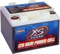 Ignition & Electrical System - XS Power Battery - XS Power AGM Battery - 12 Volt