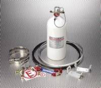 Safecraft Safety Equipment - Safecraft Circle Track Fire Protection System - Novec - 10 Lb - Pull Cable - SFI 17.1 Approved