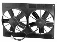 "Electric Fans - SPAL Electric Fans  - SPAL Advanced Technologies - SPAL 11"" Paddle Blade High Performance Fan, 12V Puller - 2720 CFM"