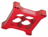 "Hamburger's Performance Products - Hamburger's 1"" Torque-Flow Billet Aluminum Carburetor Spacer - Holley, AFB 4BBL - 4 Hole"