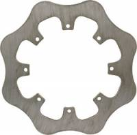 "Allstar Performance Rotors - Late Model Scalloped Rotors - Allstar Performance - Allstar Performance Late Model 8-Bolt Scalloped Rotor - Solid - .250"" Thick"