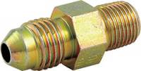"Brake Fittings, Lines and Hoses - Male NPT to AN Flare Brake Fittings - Allstar Performance - Allstar Performance -04 AN to 1/8"" NPT Straight Brake Adapter Fitting - (50 Pack)"