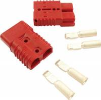 "Electrical System - Electrical Connectors - Allstar Performance - Allstar Performance 175"" Amp Red Quick Disconnects - (1"" Pair)"