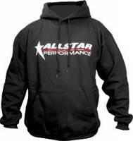 Crew Apparel - Allstar Performance - Allstar Performance Hooded Sweatshirt - Black - Medium