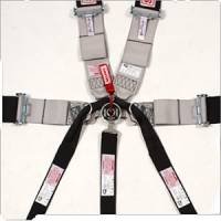 Seat Belts & Harnesses - Cam Lock Restraint Systems - Simpson Race Products - Simpson 7 Point Drag Racing Camlock Restraint System - Pull Up, Bolt In or Wrap Around Lap Belt - Short Sewn Lap Belt - Individual Shoulder Harness