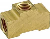 "Brake System Adapters - Tee Brake Adapters - Allstar Performance - Allstar Performance 3/16"" Inverted Flare Tee w/ 1/8"" NPT"