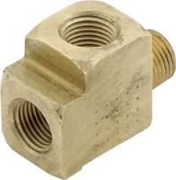 "Gauge Parts & Accessories - Gauge Fittings & Adapters - Allstar Performance - Allstar Performance 1/8"" NPT Tee Gauge Fitting"