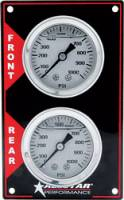 Dash Gauge Panels - Brake Bias Dash Panels - Allstar Performance - Allstar Performance Vertical Brake Bias Gauge Panel
