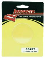 "Pit Equipment - Longacre Racing Products - Longacre 2"" Replacement Glass for Longacre Tire Gauges"