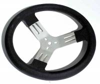 "Sprint Car & Open Wheel - Longacre Racing Products - Longacre 13"" Kart Steering Wheel - Black"