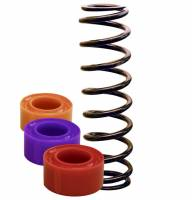 "Coil Spring Accessories - Spring Rubbers - Longacre Racing Products - Longacre 1-1/4 "" Large Spacing Coil-Over Spring Rubber - Red (Medium)"