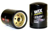 "Oil Filters - Spin-On - Wix Racing Oil Filters - Wix Filters - WIX Performance Oil Filter - Chevy - 5.170"" Height x 3.600"" Diameter - 13/16""-16 Thread - No By-Pass"