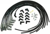 Spark Plug Wires - Ford Racing Spark Plug Wires - Ford Racing - Ford Racing 9mm Spark Plug Wire Set - Ford V-6 & V-8 Universal - Black - 45 Boot