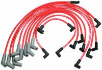 Spark Plug Wires - Ford Racing Spark Plug Wires - Ford Racing - Ford Racing 9mm Spark Plug Wire Set - SB Ford 5.0, 5.8L V-8 Engine - Red - 45° Boot
