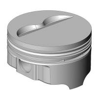 "Icon Pistons - Icon FHR Series Forged Flat Top Piston Set - SB Chevy 350 Bore Size: 4.030"", Stroke: 3.480"", Rod Length: 5.700"""