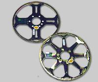 Belt Driven Fans - Steel Fans - Quick Time - Quick Time Ultra-Lightweight Flexplate - 1974-1985 GM (153 Teeth) - 8 Spoke - 2.1 lbs.