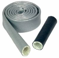 "Firesleeve - Thermo-Tec Heat Sleeve - Thermo-Tec - Thermo-Tec Heat Sleeve - 1"" x 3 Ft. - Silver"