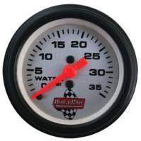 """Water Pressure Gauges - Mechanical Water Pressure Gauges - QuickCar Racing Products - QuickCar QuickCar 2"""" Water Pressure Gauge"""