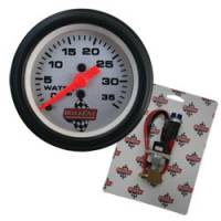 Analog Gauges - Water Pressure Gauges - QuickCar Racing Products - QuickCar Quick-Light Water Pressure Kit w/ Gauge