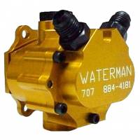 Sprint Car & Open Wheel - Waterman Racing Components - Waterman Ultra Lite 400 GPH Sprint Fuel Pump