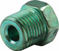 "Brake Fittings, Lines and Hoses - Inverted Flare Nut Brake Adapters - Allstar Performance - Allstar Performance 3/16"" Inverted Flare Nuts - 1/2""-20 Green"